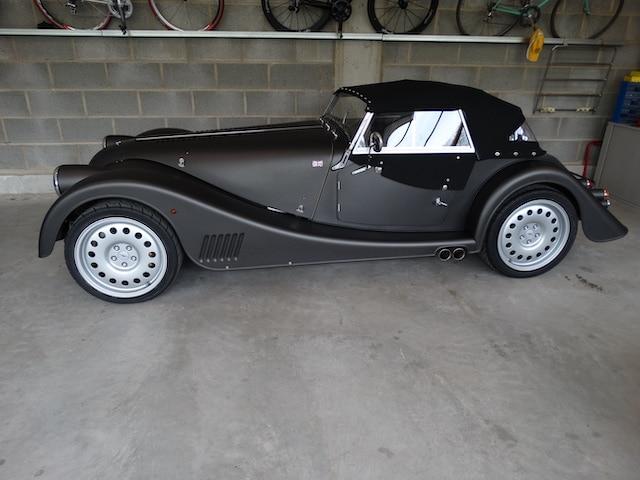 Morgan Plus 8 4,8 Liter Aufbereitung Oldtimer Fine Car Interiors Matthias Stellrecht Oldtimer Porsche Morgan Fahrzeug Seitenansicht Verdeckarbeiten