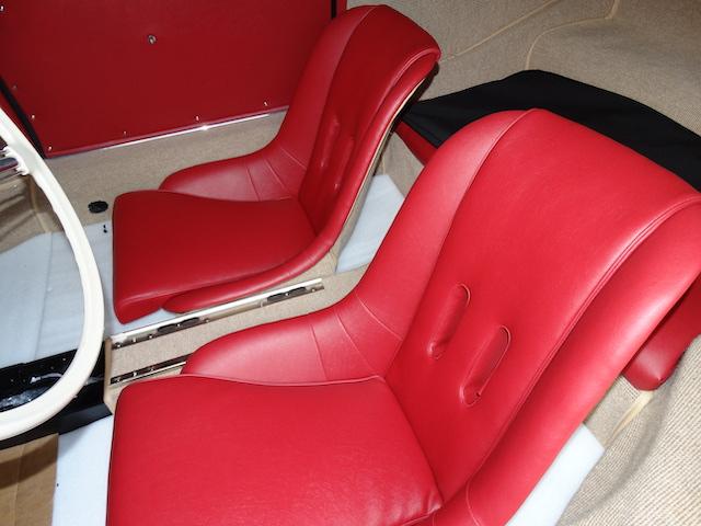 Porsche 365 Speedster rote Sportsitze - Fine Car Interiors - Matthias Stellrecht Oldtimer Aufbereitung Innenausstattung