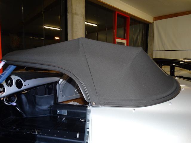 Porsche 365 Speedster Carrera GT Silber - Fine Car Interiors - Matthias Stellrecht Oldtimer Aufbereitung Innenausstattung Verdeckarbeiten Innenausbau