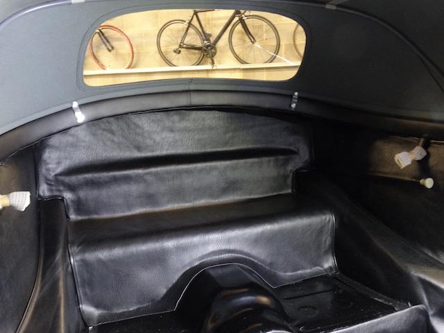 Porsche 365 Speedster Carrera GT Silber - Fine Car Interiors - Matthias Stellrecht Oldtimer Aufbereitung Innenausstattung Verdeckarbeiten