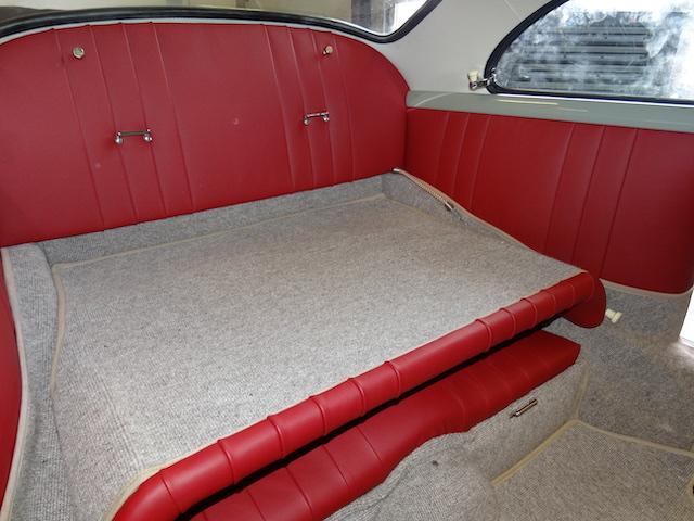 Porsche 365 A Coupé Rote Sitze - Fine Car Interiors - Matthias Stellrecht Oldtimer Aufbereitung Innenausstattung