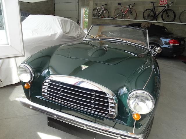 Swallow Doretti Dunkelgrün braune Sitze - Fine Car Interiors - Matthias Stellrecht Oldtimer Aufbereitung Einlagerung