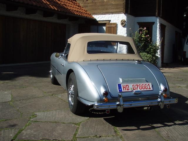 Swallow Doretti Silber Verdeck Beige - Fine Car Interiors - Matthias Stellrecht Oldtimer Aufbereitung Verdeckarbeiten