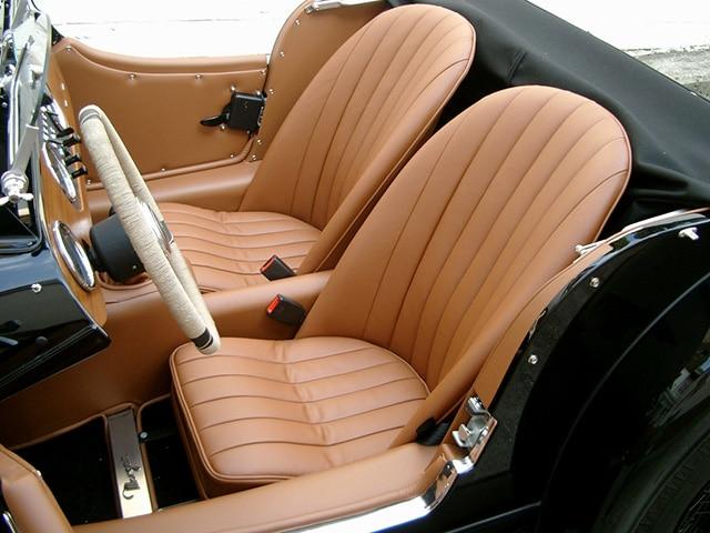 Aufbereitung Oldtimer Fine Car Interiors Matthias Stellrecht Oldtimer_Porsche Morgan Innenausstattung Sitze