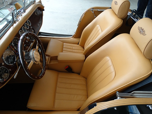 Aufbereitung Oldtimer Fine Car Interiors Matthias Stellrecht Oldtimer_Porsche Morgan Innenausstattung Morgan Plus 8