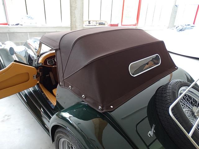 Verdeckarbeiten Fine Car Interiors Matthias Stellrecht Oldtimer Porsche Morgan Innenausstattung Verdecke