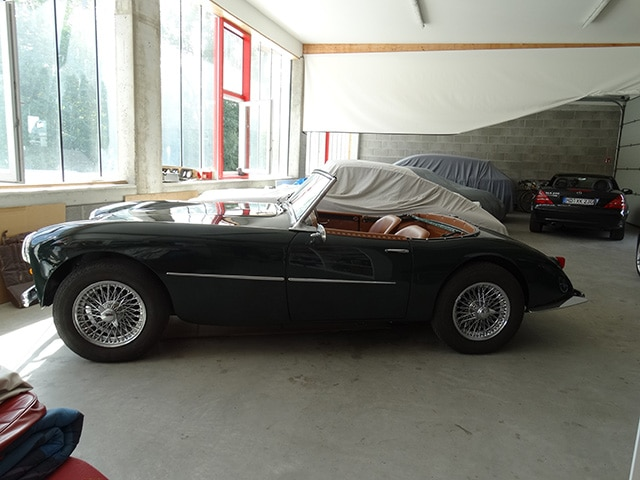 Einlagerung Oldtimer Fine Car Interiors Matthias Stellrecht Oldtimer_Porsche_Morgan Aufbereitung Innenausstattung