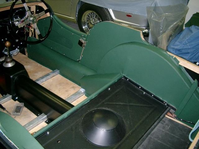 "Morgan Plus 4 ""Interim Modell"" - Fine Car Interiors - Matthias Stellrecht Oldtimer Aufbereitung"